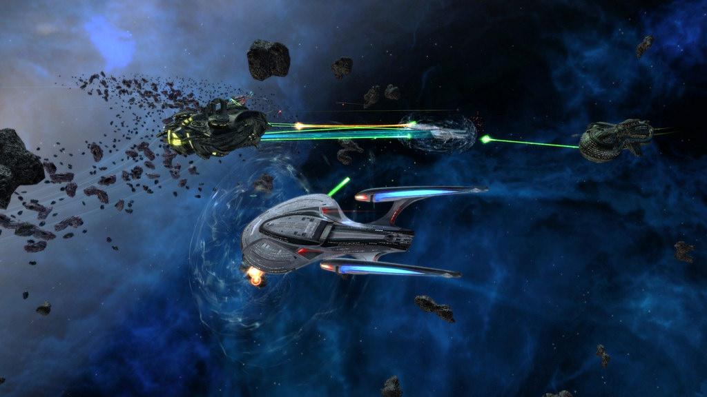 Enterprise in fligt